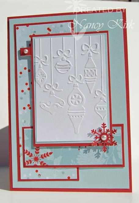 FS holiday cuttlebug
