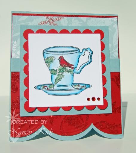 Limited supply cardinala teacup